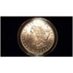 1882 Brilliant Uncirculated Silver Morgan Dollar    2ch