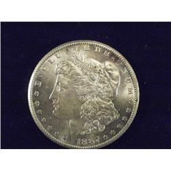 1887-S Morgan Silver Dollar MS63?