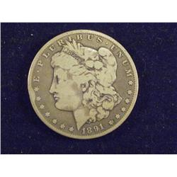 1891 CC Silver Dollar     ch4