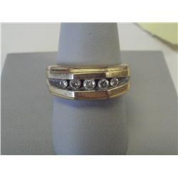 1 Carat Channel Set Diamond Ladies Ring