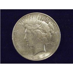 1927-D Silver Peace Dollar