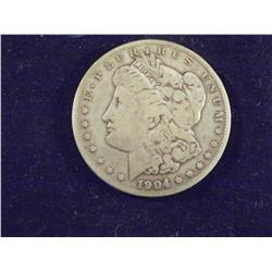 1904 Silver Morgan Dollar, Better Date