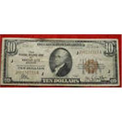Federal Reserve Kansas City MO $10 Dollar Bill