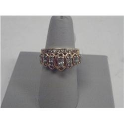 1.75 Carat Marquis Diamond Ladies Ring, 14 K