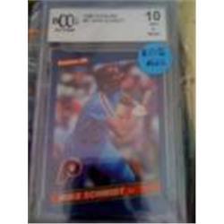 1986 Mike Schmidt Baseball Card