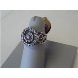 1.25  Carat Cartier Design Diamond Ring, 14K W/Gold
