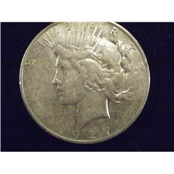 1927 Silver Peace Dollar