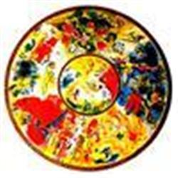 """Chagall """"Paris Opera Ceiling"""" Ltd. Edition Lithograph, W/ COA"""