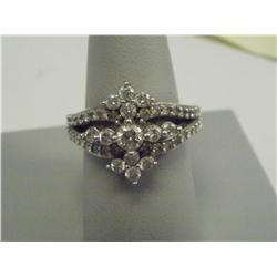 2 Ct Brilliant Diamond Ladies Ring, 14K Gold,