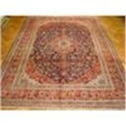 10'x13' Handmade Persian Kashan