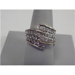 1.5 Carat Diamond Ladies Ring, 14 K gold