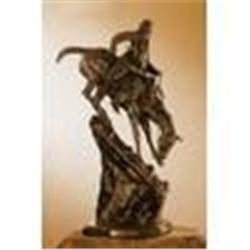 Mountain Man Bronze Sculpture, Frederick Remington