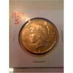 Key Date 1927-S Silver Peace Dollar