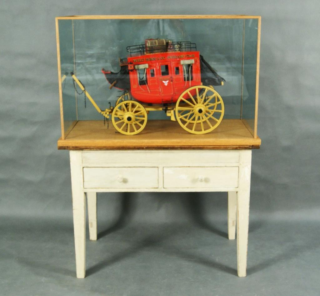 Wells Fargo American Furniture Payment: Wells Fargo Miniature Stagecoach By Tom Balazs Made In