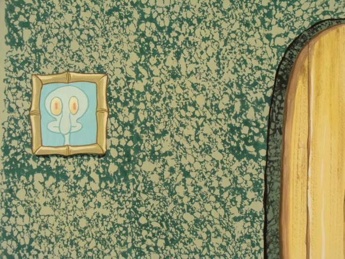 Squidward House Background SpongeBob Original Animation