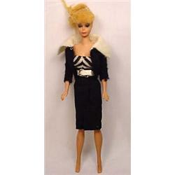 VINTAGE PONYTAIL BARBIE NO. 6 BARBIE DOLL W/ ORIGI