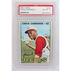 1967 TOPPS CHICO CARDENAS NO. 325 BASEBALL CARD -