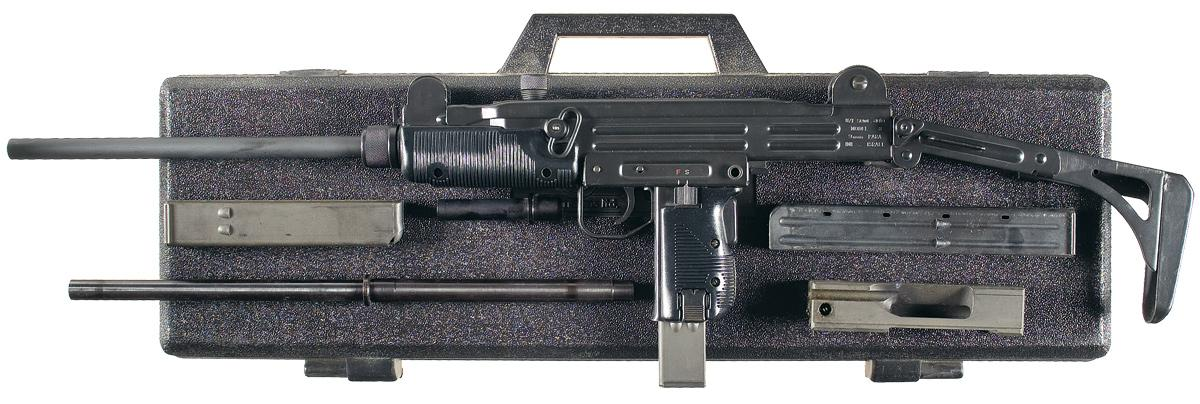 UZI Model B Semi-Automatic Carbine with  45 ACP Conversion Kit and Case