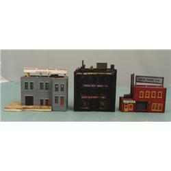 3 N Scale Manufacturing Buildings Paper Mattress Custom