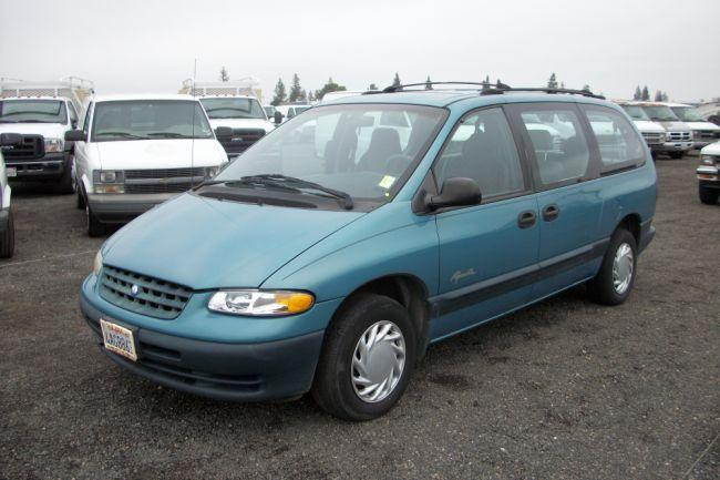 1998 plymouth grand voyager se minivan live auction world