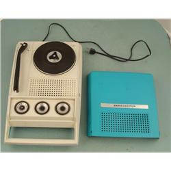 Barrington Vintage Portable Record Player Radio