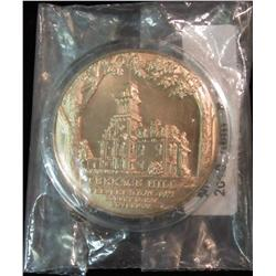 2. 1972 Terrace Hill (Iowa Governor's Mansion) Bronze Medal