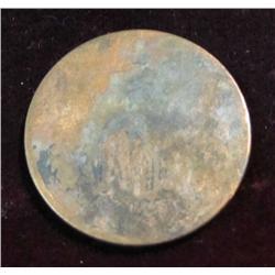 3. 1864 U.S. Two Cent Piece Civil War Coin. AG-G.