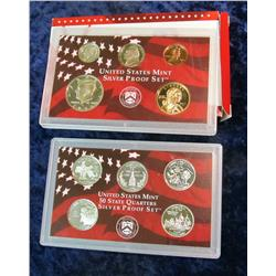 25. 2000 S U.S. Silver Proof Set.  Original as issued.