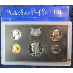 30. 1971 S U.S. Proof Set. Original as issued.