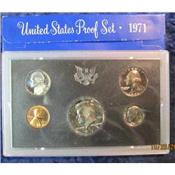 31. 1971 S U.S. Proof Set. Original as issued.