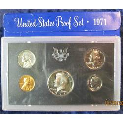 32. 1971 S U.S. Proof Set. Original as issued.