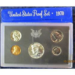 42. 1970 S U.S. Proof Set. Original as issued.