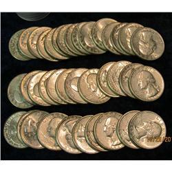 45. (37) 1932 P Washington Quarters. EF-AU.