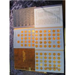 179. Well used Coinmaster Half Dollar Album (no coins); 1959-71 Set of