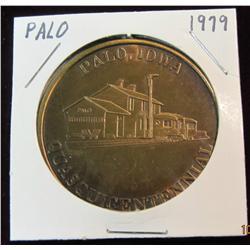 186. 1854-1979 Palo, Iowa Quasquicentennial Bronze Medal. 39mm. BU