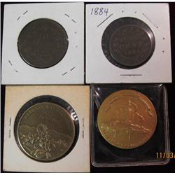 298. 1867-1967 Nebraskaland Centennial Medal; 1867-1967 Nebraska's