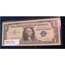 352. Series 1957A $1 Silver Certificate. VF 20.