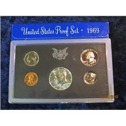 389. 1969 S U.S. Proof Set. Original as issued.