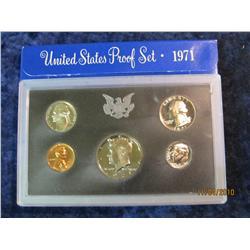 391. 1971 S U.S. Proof Set. Original as issued.
