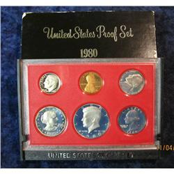 397. 1980 S U.S. Proof Set. Original as issued.