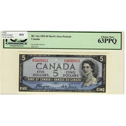 1954 $5 BC-31a B/C3605913 PCGS UNC63PPQ