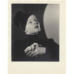 Katharine Hepburn oversize gallery portrait from Sylvia Scarlett by Ernest A. Bachrach