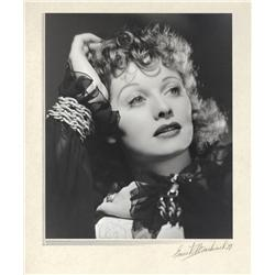 Lucille Ball oversize exhibition portrait by Ernest A. Bachrach