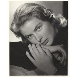 Ingrid Bergman oversize gallery portrait from Notorious by Ernest A. Bachrach