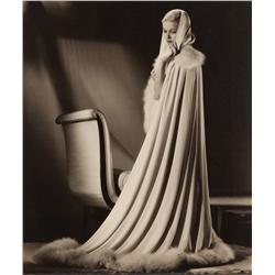 Joan Bennett oversize exhibition portrait from Woman in the Window by Ernest A. Bachrach