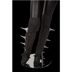 """Zhora"" leather spiked leggings from Blade Runner"