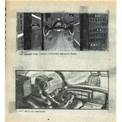 Set of storyboard books for Blade Runner