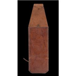 Dennis Hopper Lieutenant 'Lefty' Enright leather chainsaw holster from The Texas Chainsaw Massacre 2