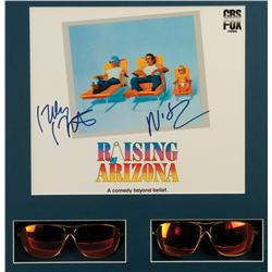 Sunglasses worn by Nick Cage and Holly Hunter for the Raising Arizona poster