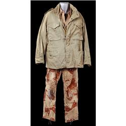 "Richard Crenna ""Col. Trautman"" desert combat uniform from Rambo III"